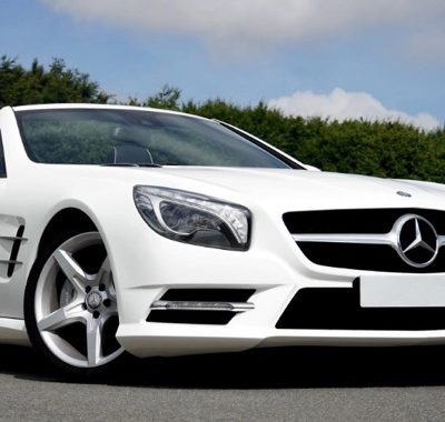 White Mercedes Can Be Purchased With Car Finance