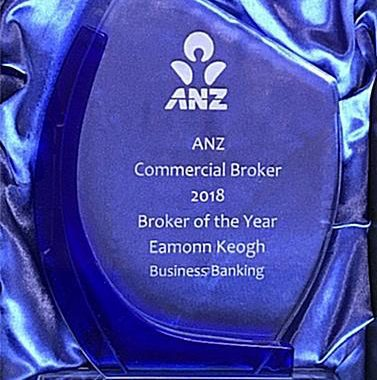 ANZ Commercial Broker Of The Year 2018 – Eamonn Keogh