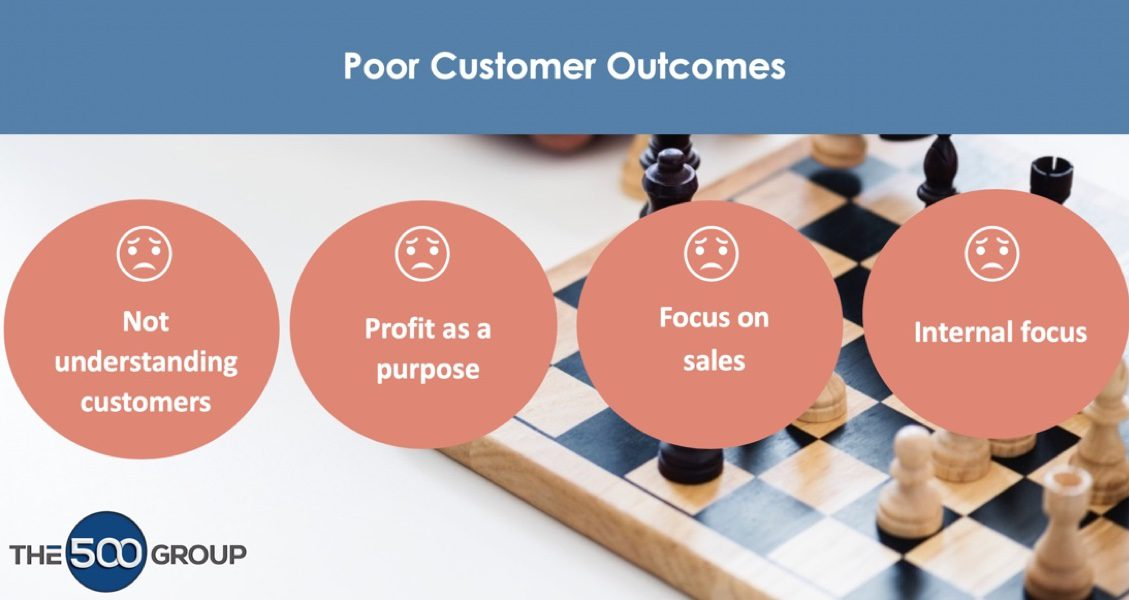 Factors Leading To Poor Customer Outcomes
