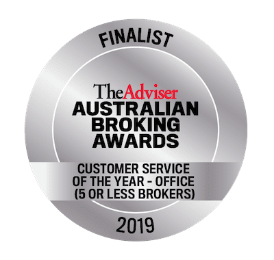 Australian Broking Awards 2019 - Customer Service - Finalist