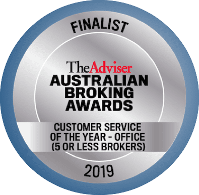 Australian Broking Awards 2019 Finalist Customer Service