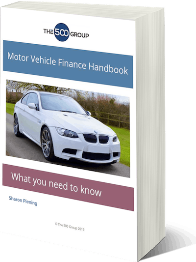 Cover For The Motor Vehicle Finance Handbook