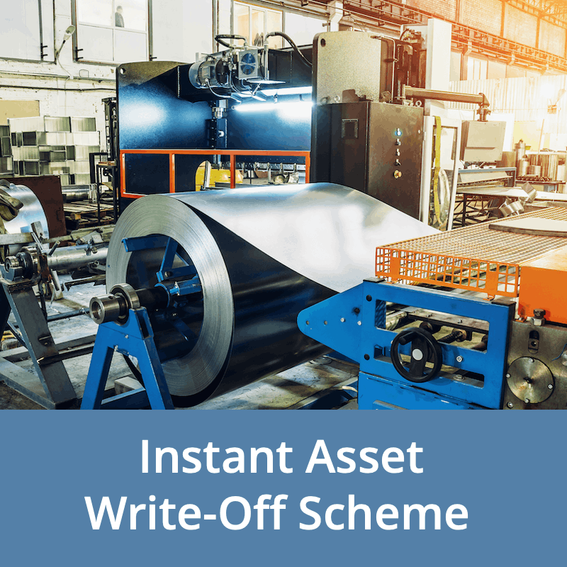 The Instant Asset Write Off Scheme Helps Get The Equipment You Need