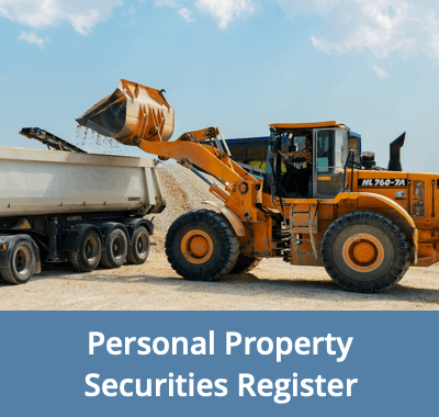 Personal Property Securities Register - A Great Resource